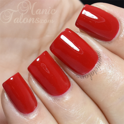 KBShimmer Chilly Pepper Swatch