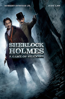 Sherlock Holmes Game Of Shadows Official Poster