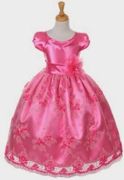 Vestidos, Niña de las Flores, Fucsia