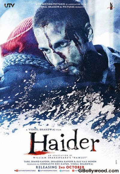 Haider (2014) Poster