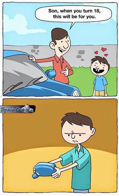 funny comics car picture