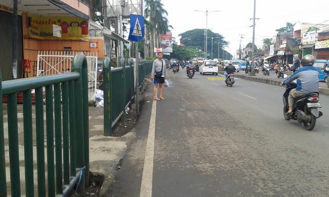 Adanya Penertiban PKL di Cibinong Membuat Jalanan Tidak Macet