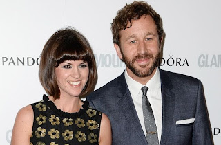 Dawn and Chris O'Dowd