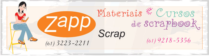 ZappScrap: materiais e cursos para SCRAPBOOK