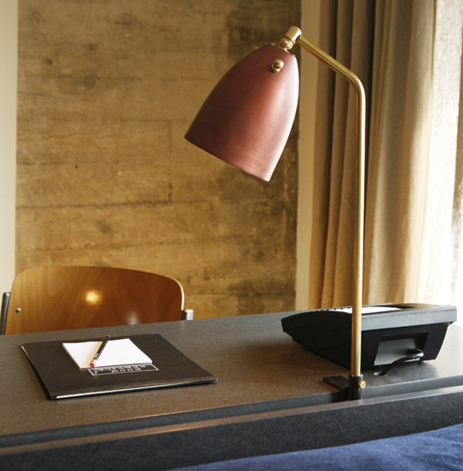 Ace hotel clamp lamp #1