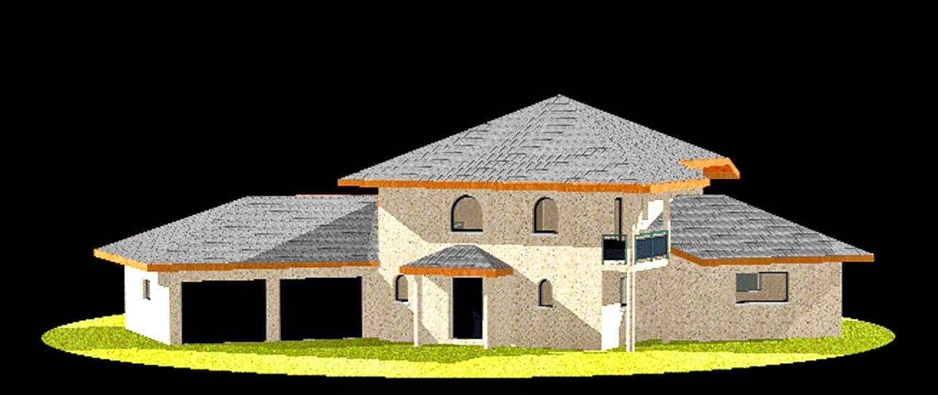 Maison dessin 3d for Dessin 3d maison