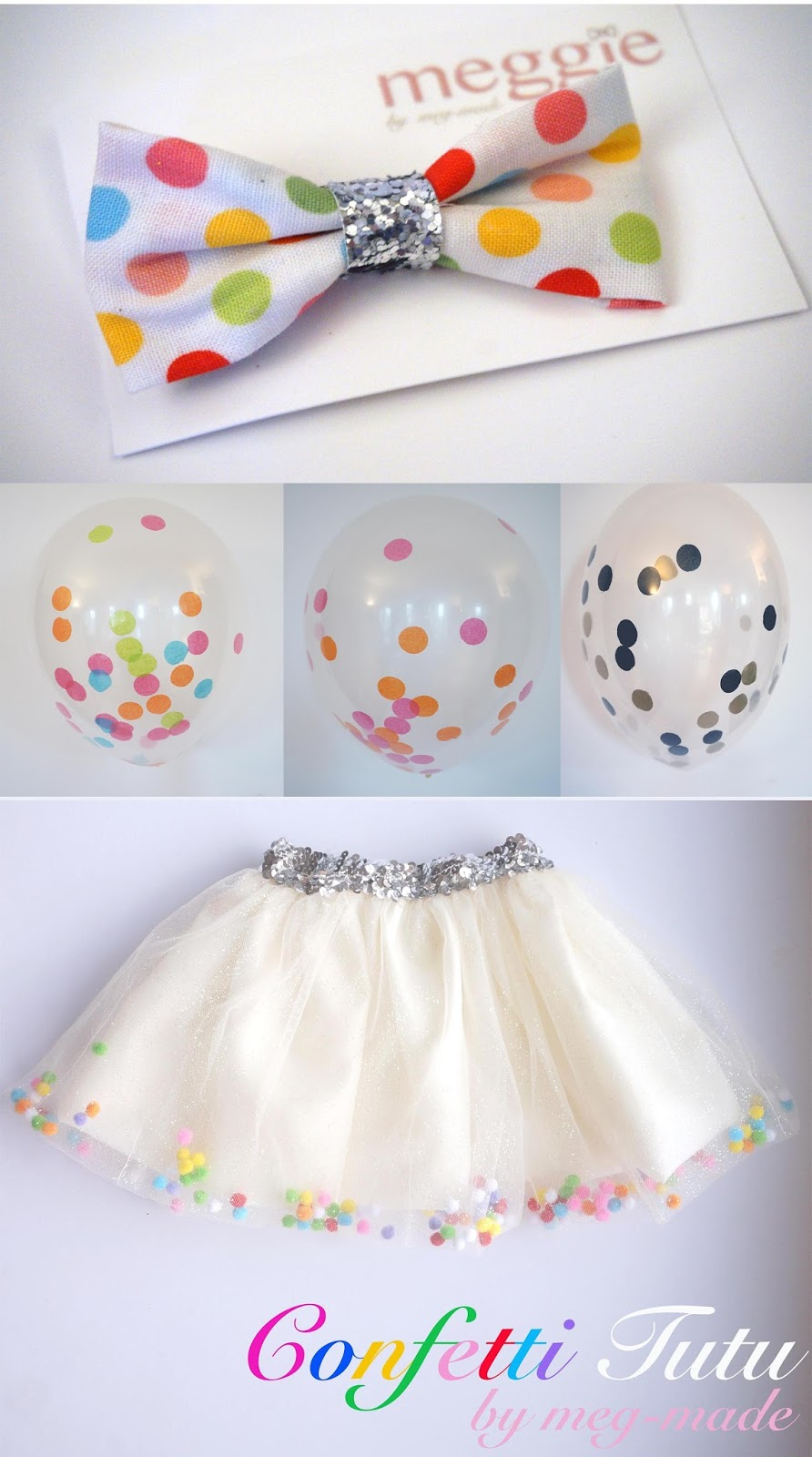 meg-made confetti tutu confetti filled balloons
