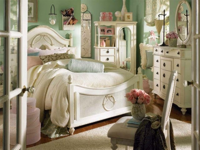 vintage bedroom paint ideas