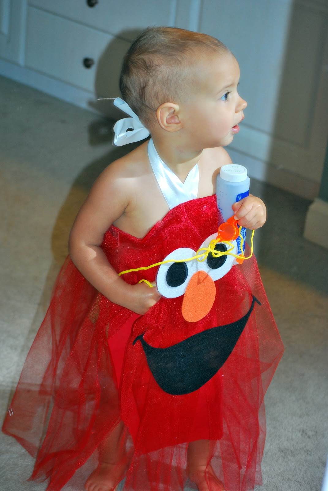 with halloween only a week away i thought id share a few pictures of the cutest elmo ive ever seen i might be a bit biased - Halloween Costumes Elmo