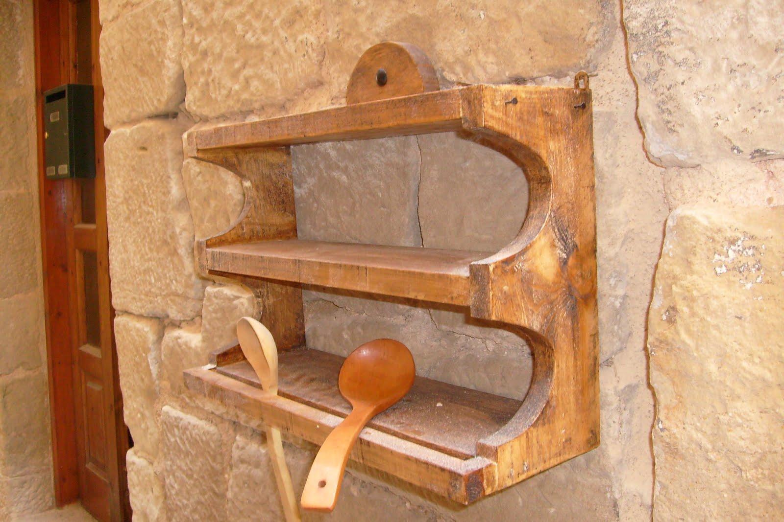 Muebles De Antes Especiero Cucharero