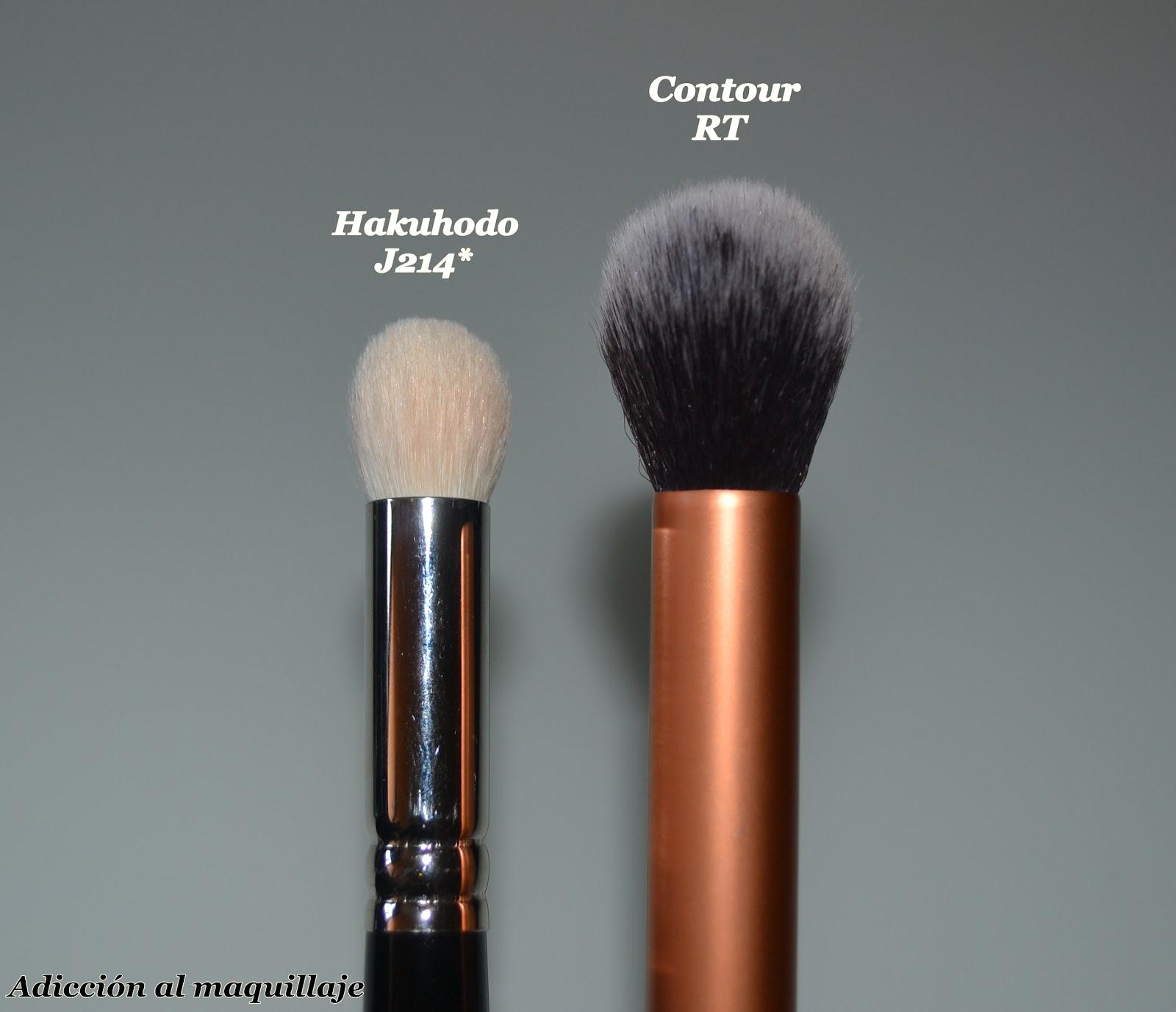 Adicci n al maquillaje mis brochas de rostro y labios - Como barnizar con brocha ...