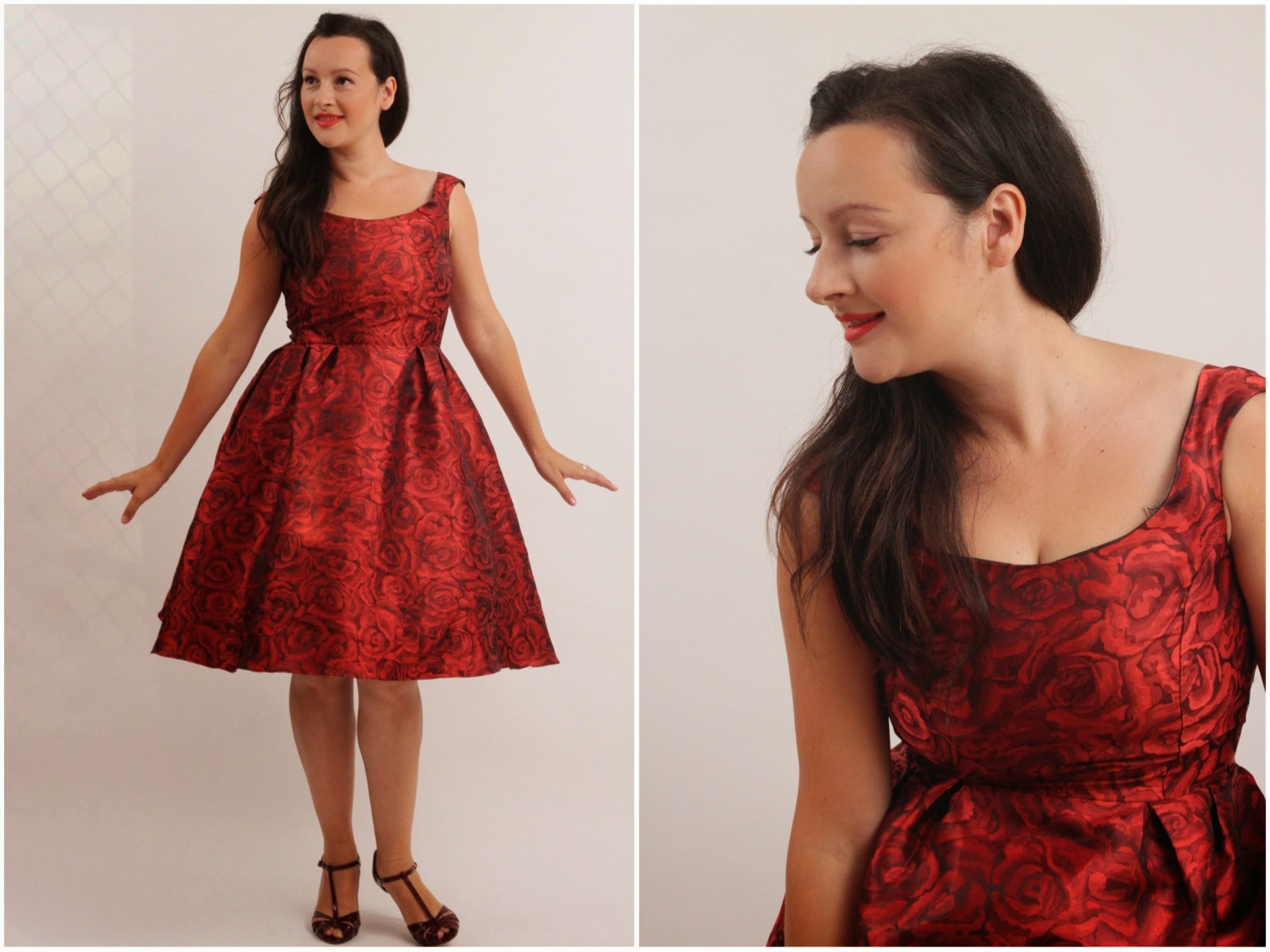 Julia Bobbin - Billie Jean Dress by Blue Ginger Doll Patterns