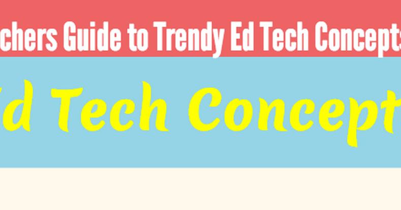 A New Educational Technology Cheat Sheet for Teachers