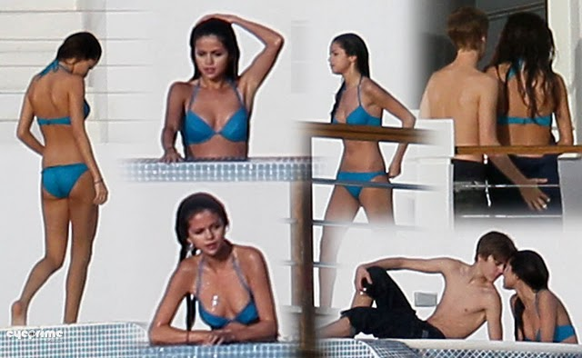 Selena Gomez Bathing Suit 2012