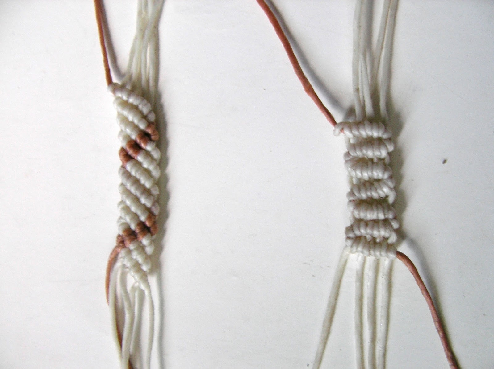 Double Half Hitch Knot Macrame Double Half Hitch Bar