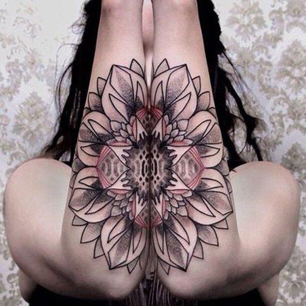 O mistério e a beleza das tatuagens de Mandala