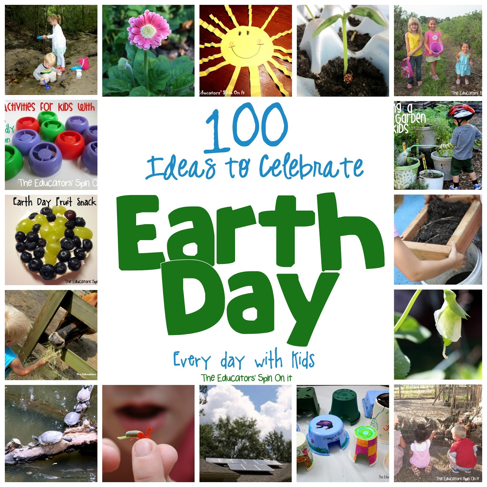 100 ways to celebrate earth day every day with kids