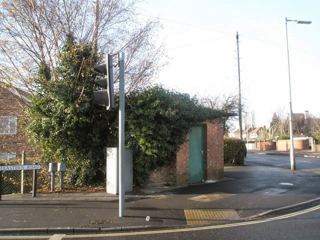 Old Police Box at the top of the Eastern Road