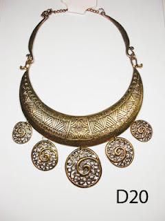 kalung aksesoris wanita d20