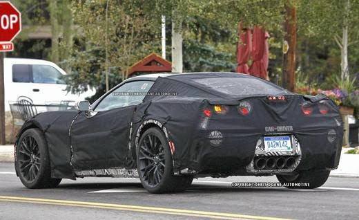SPOTTED: 2016 Chevrolet Corvette Z07