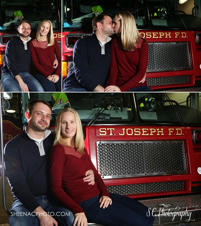 Saint Joseph Fire Department Engagement Session Public Safety