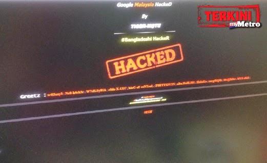 Web Google Diserang Hacker