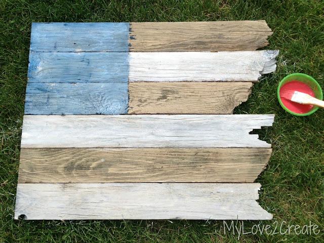 MyLove2Create, Scrap Wood American Flag