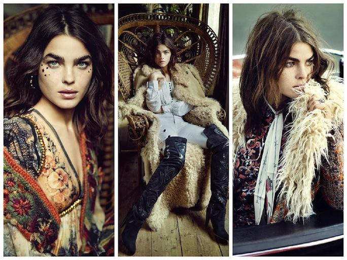 Elle UK Oct15 Editorial featuring Bambi Northwood