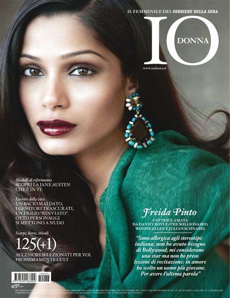Freida Pinto @ 'Lo Donna' Magazine