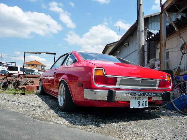Mazda Cosmo II AP stary japoński samochód oldschool klasyk sportowy