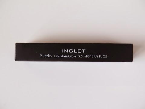 INGLOT Sleeks Lip Gloss Lūpų blizgis 35