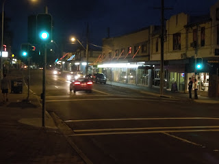 Main Street at Thirroul