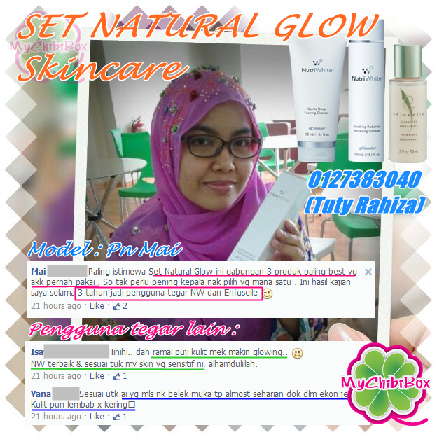 Set Natural GLOW Skincare