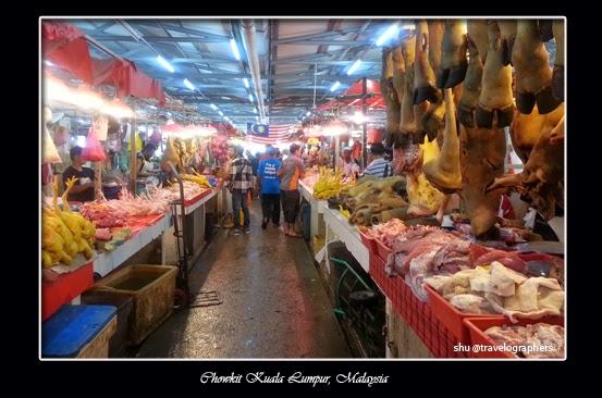 bazzar baru chow kit, kuala lumpur, pasar basah, pasar tradisional, tki, imigran, indonesia