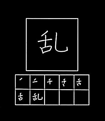 kanji rusuh