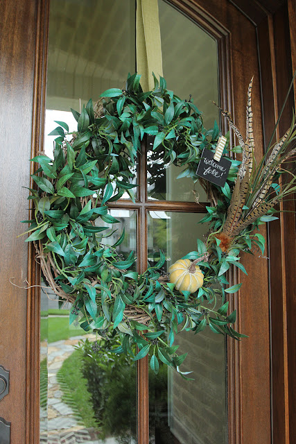 Another 5-Minute Fall Wreath Switch-Up!