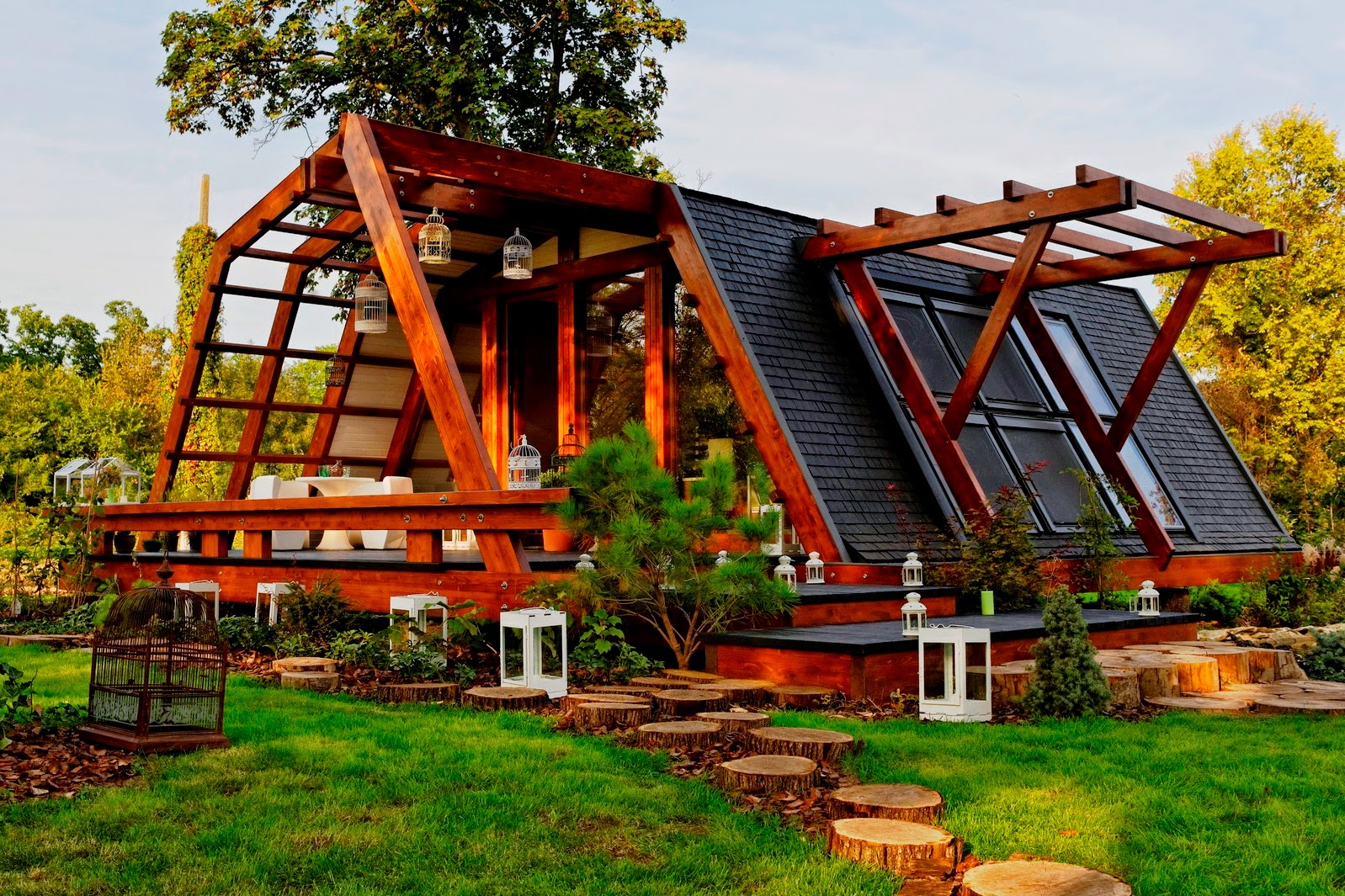 Modern Green House Plans Design with Photos