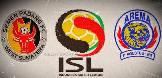 Jadwal & Hasil Pertandingan Semen Padang Vs Arema, Babak 8 Besar ISL 2014