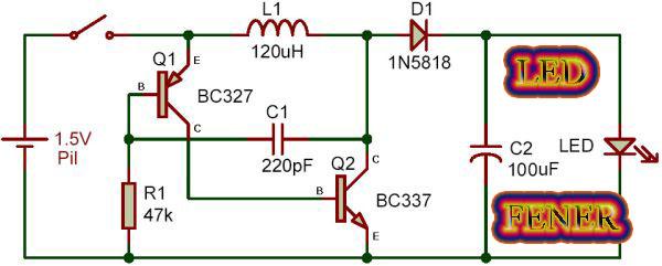 Схема преобразователя 3-9 в