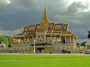 Pabellón Chanchhaya en el Palacio Real de Phnom Penh