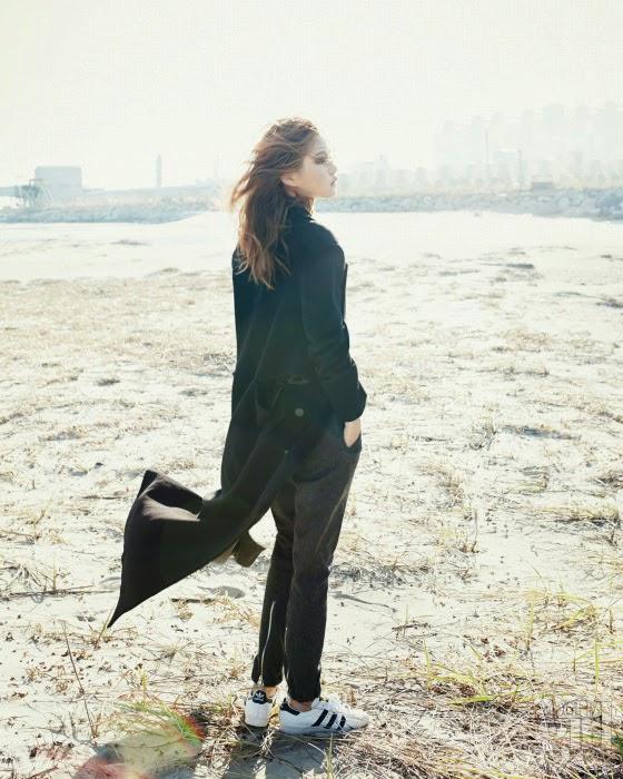 Yeo Hye Won - Vogue Girl Magazine January Issue 2014