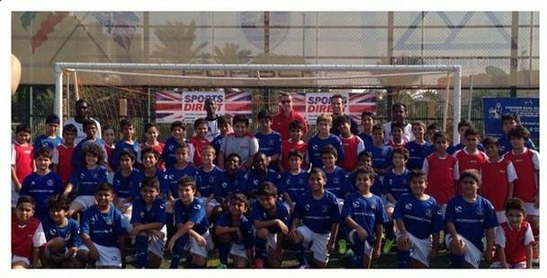 Kuwait Arsenal v Everton