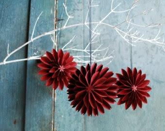 Origami maniacs christmas flower ornament designed by makoto yamaguchi christmas flower ornament designed by makoto yamaguchi mightylinksfo