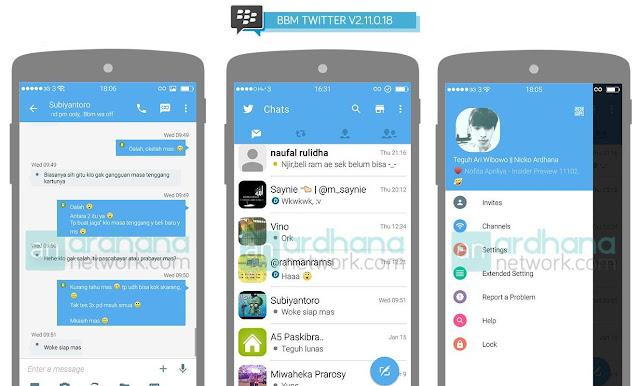 [BBM MOD] Twitter V.2.11.0.18 By Teguh Ari Wibowo