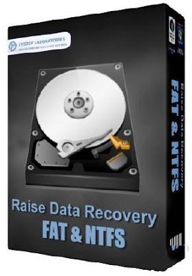 برنامج Raise Data Recovery for FAT / NTFS 5.8.1 الاقوى في استرجاع الملفات المحذوفة