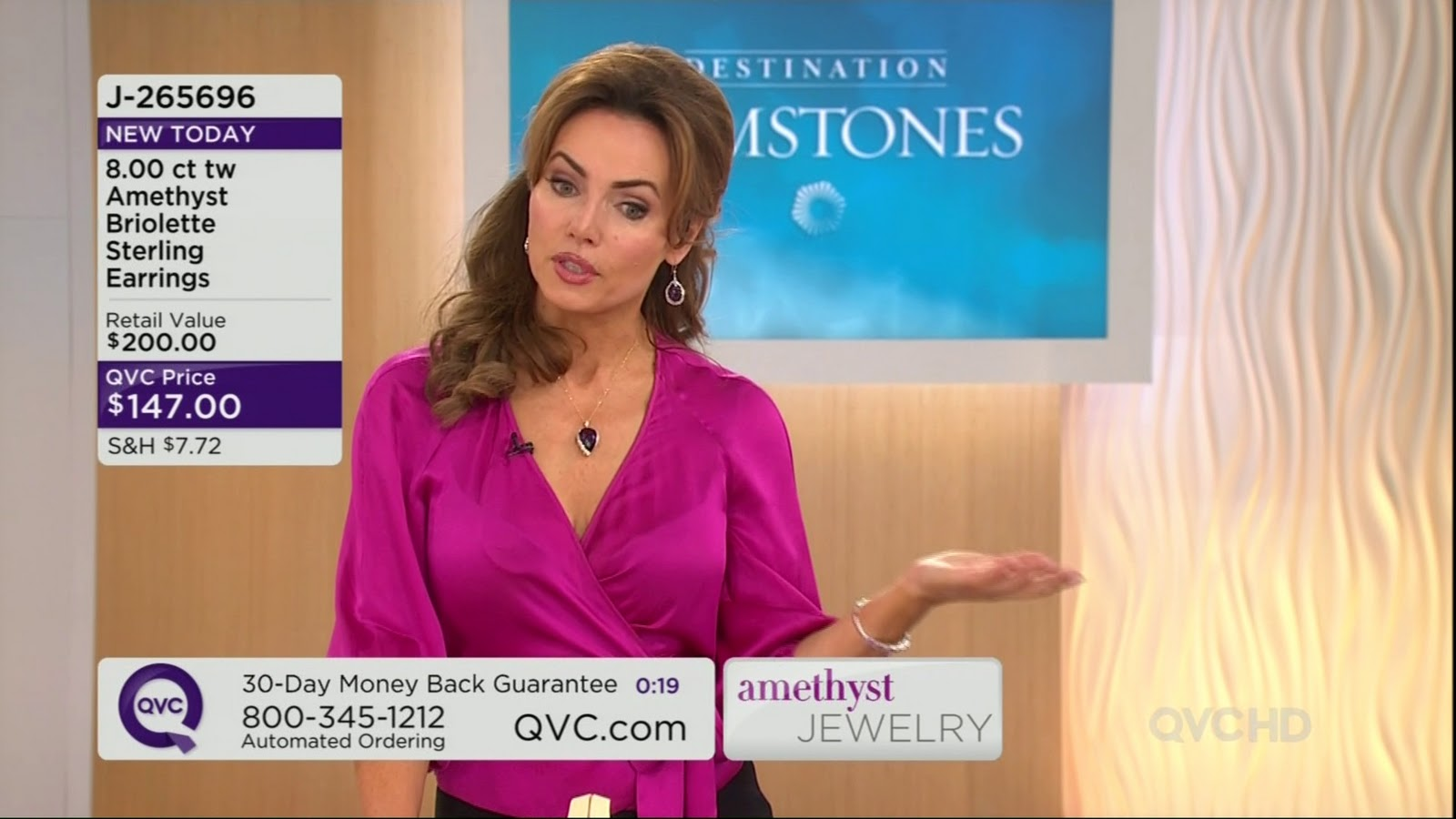 She is a host on QVC. that's it for today. until next time.