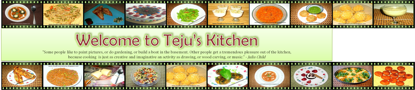 Welcome to Teju's Kitchen
