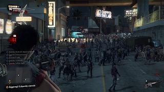 Dead Rising 3 Zombie su schermo.