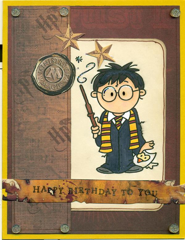 День рождения для детей в стиле гарри поттер своими руками 79