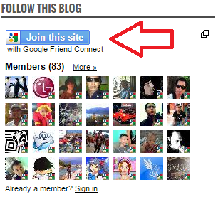 Cara Membuat Widget Followers Blog Di Blogger